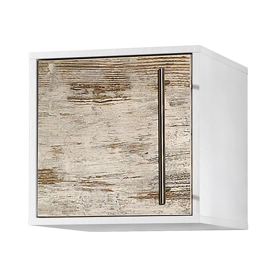 Home 24 - Placard suspendu moncton - imitation pin argenté / blanc, schildmeyer