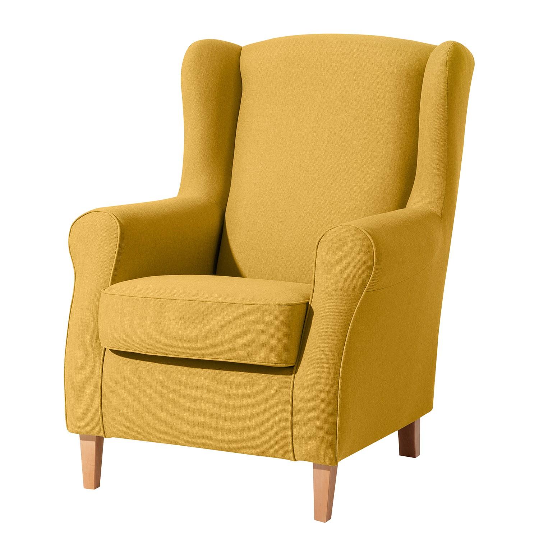max winzer sessel, ohrensessel cabidos - leinenoptik - gelb, max winzer jetzt kaufen, Design ideen