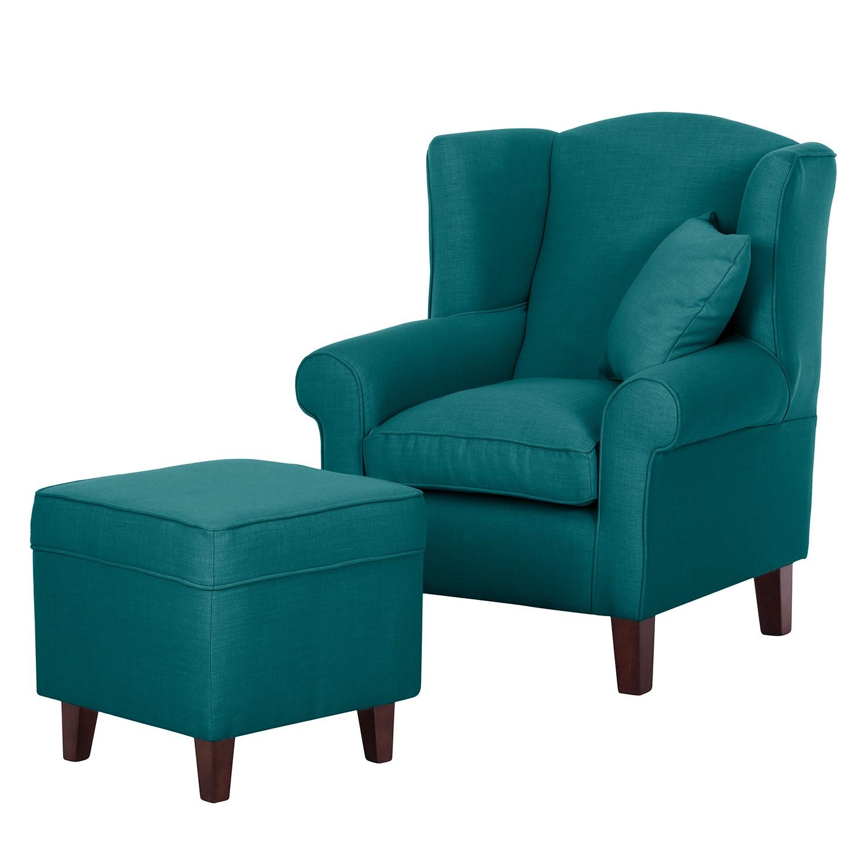 maison belfort fauteuil oreilles colmar tissu avec. Black Bedroom Furniture Sets. Home Design Ideas