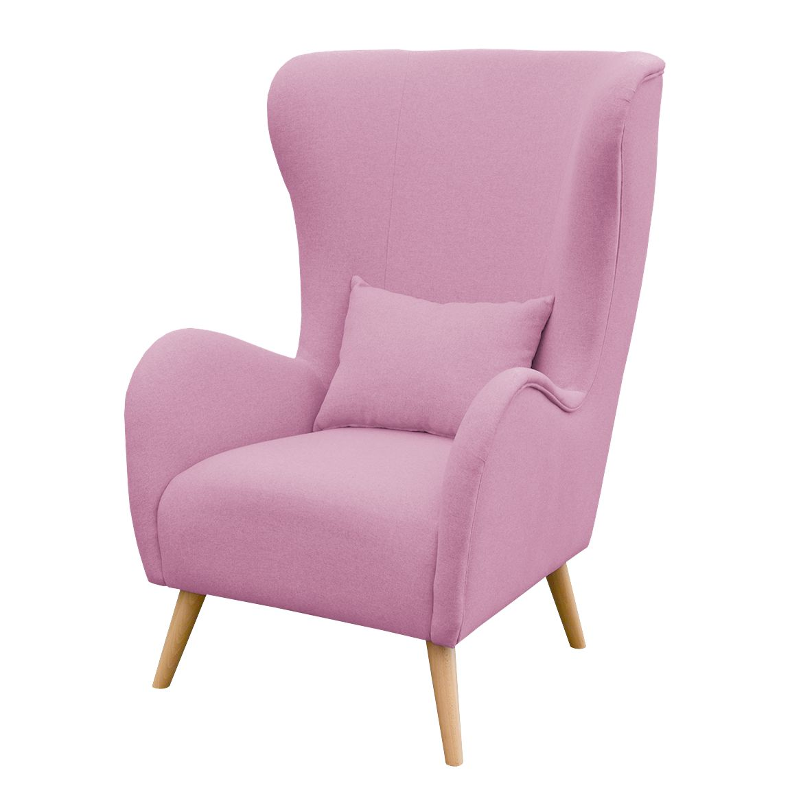 ohrensessel madame lebon iii webstoff mauve morteens online bestellen. Black Bedroom Furniture Sets. Home Design Ideas