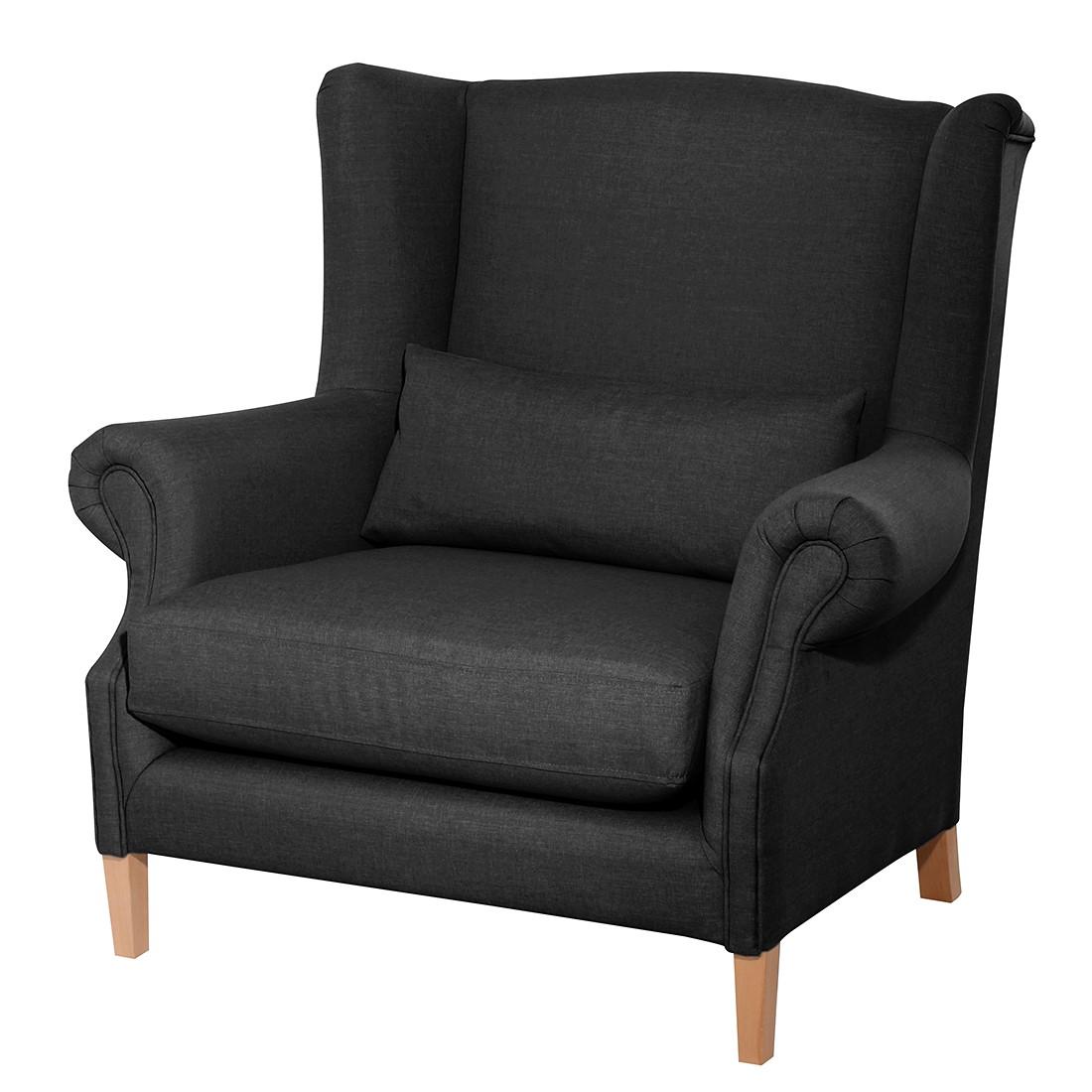 ohrensessel schwarz excellent beliani sessel vejle with. Black Bedroom Furniture Sets. Home Design Ideas