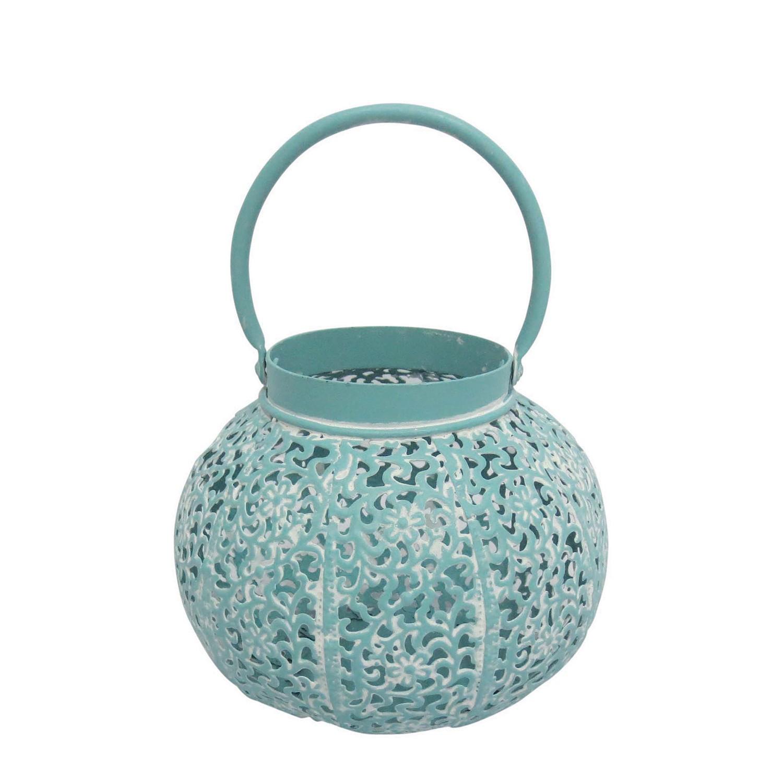 Home 24 - Lanterne orientale jawa - bleu pastel moyen modèle, my flair