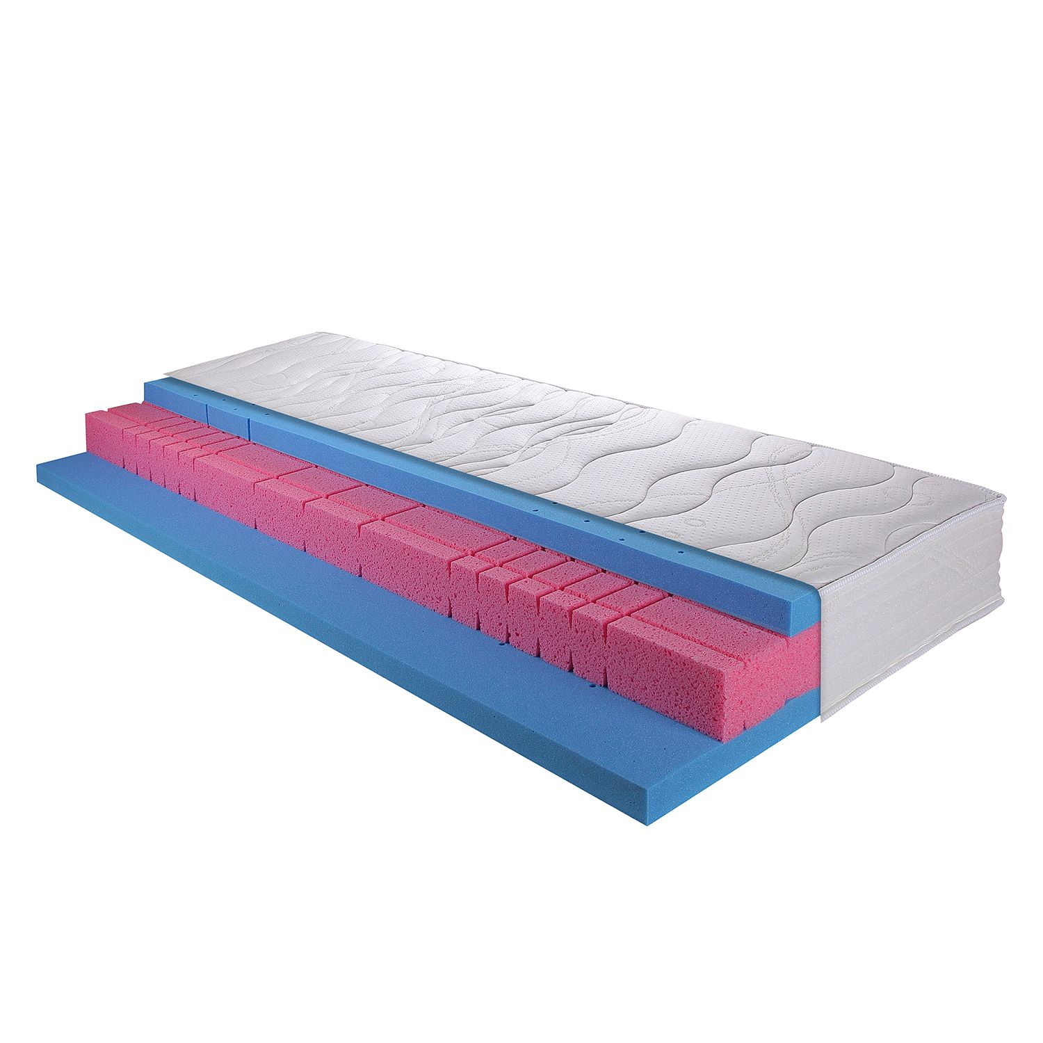 Matelas en mousse froide Ortho Air Gi - 200 x 200cm, Breckle
