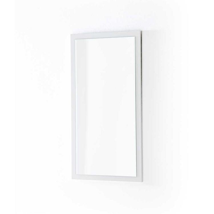 Spiegel Paddington II - hoogglans wit, Fredriks