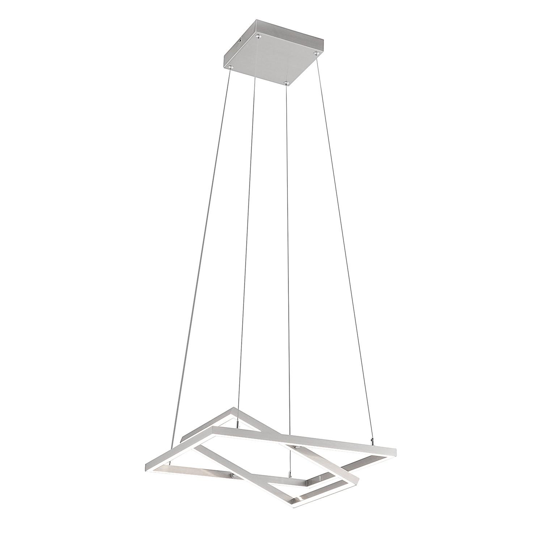 EEK A+, LED-Pendelleuchte Inigo - Kunststoff / Stahl - 2-flammig, Paul Neuhaus