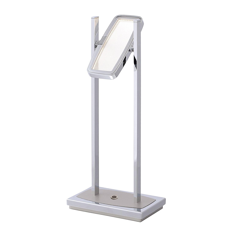 EEK A+, Lampe de table LED Ilona - Matière synthétique / Acier - 1 ampoule, Paul Neuhaus
