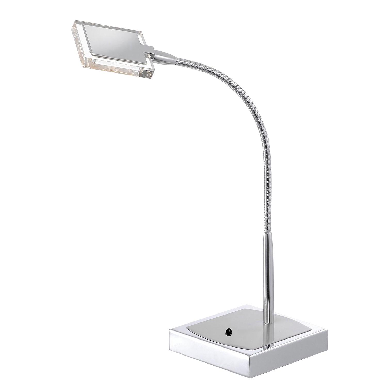 EEK A+, Lampe de table LED Daan Color - Matière synthétique / Acier - 1 ampoule, Paul Neuhaus