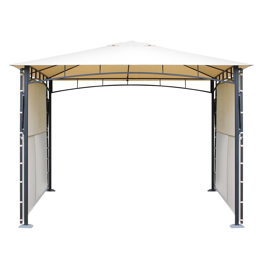 Pavillon Morne I - Aluminium/Textil - Anthrazit/Beige, Leco