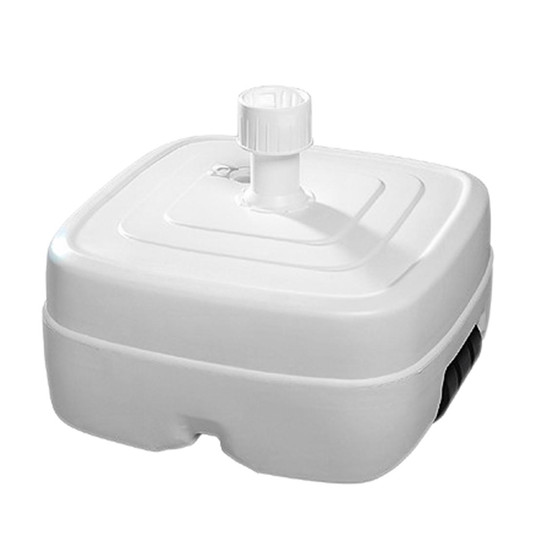 Home 24 - Pied pe (38 -55 mm) - plastique blanc, schneider schirme