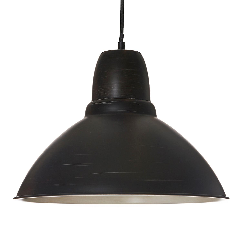 Eek a suspension antik fer 1 ampoule noir hell for Suspension en fer noir