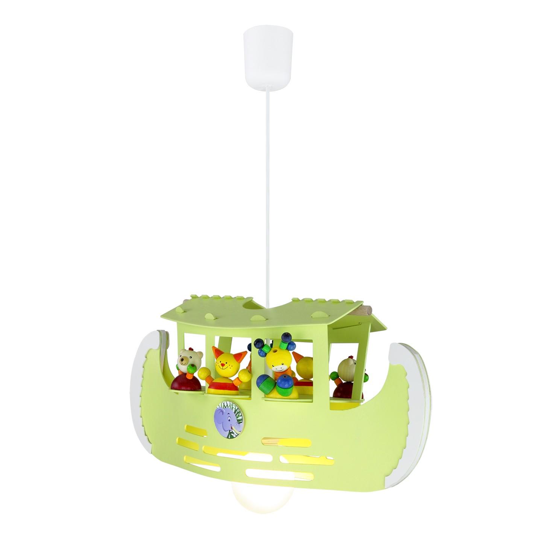 energie  A++_ Hanglamp Ark   hout 1 lichtbron_ Elobra