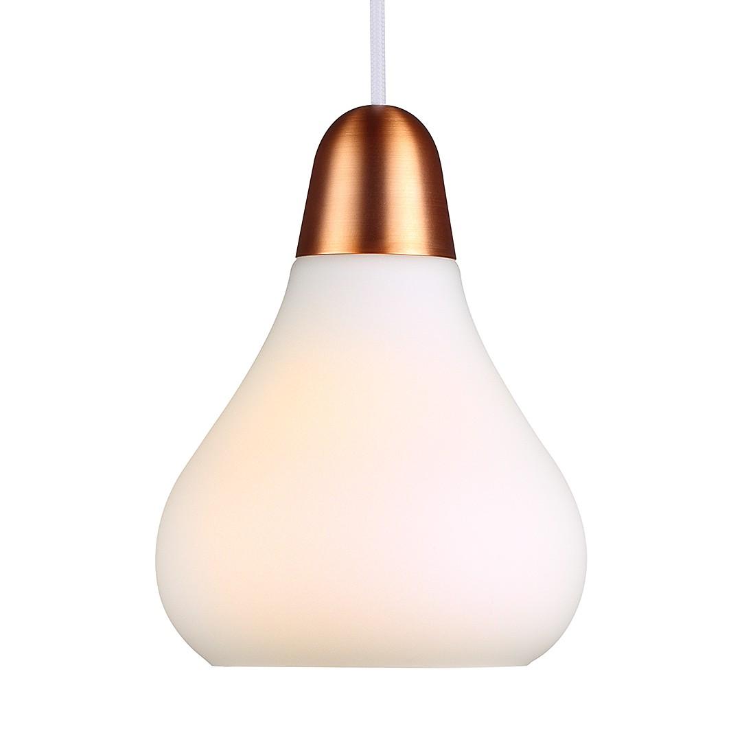 energie  A++, Hanglamp Bloom 13 - metaal/bruin koper 1 lichtbron, Nordlux