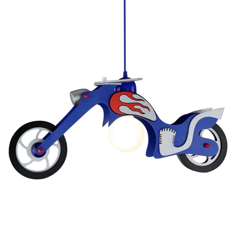 energie  A++, Hanglamp Chopper - hout 1 lichtbron, Elobra