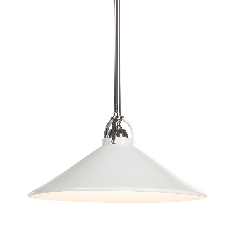 energie  A++, Hanglamp - keramiek - wit - 1 lichtbron, Lampadina
