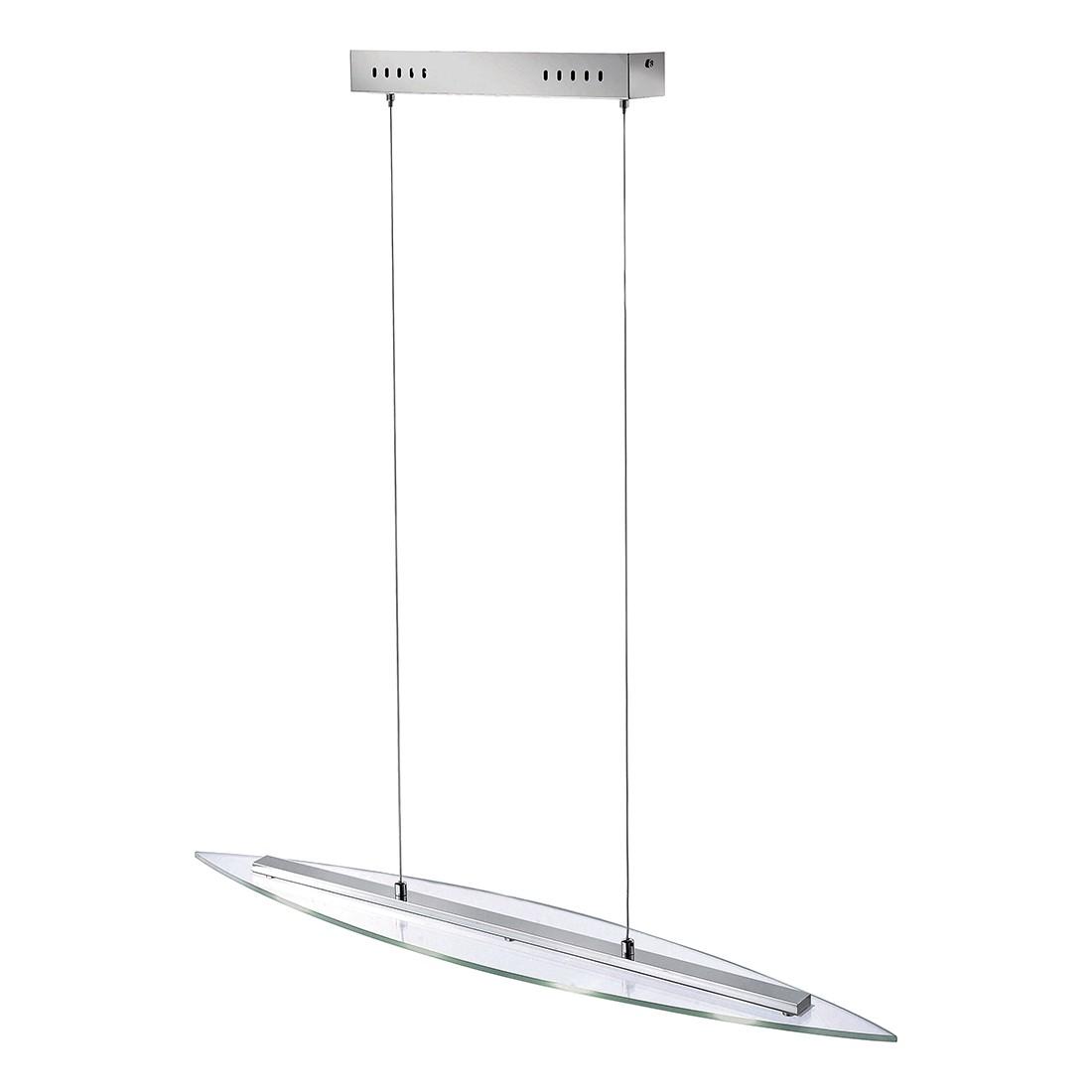 energie  A+, Hanglamp Daniel by Leuchten Direkt - zilverkleurig ijzer 4 lichtbronnen, Leuchten Direkt