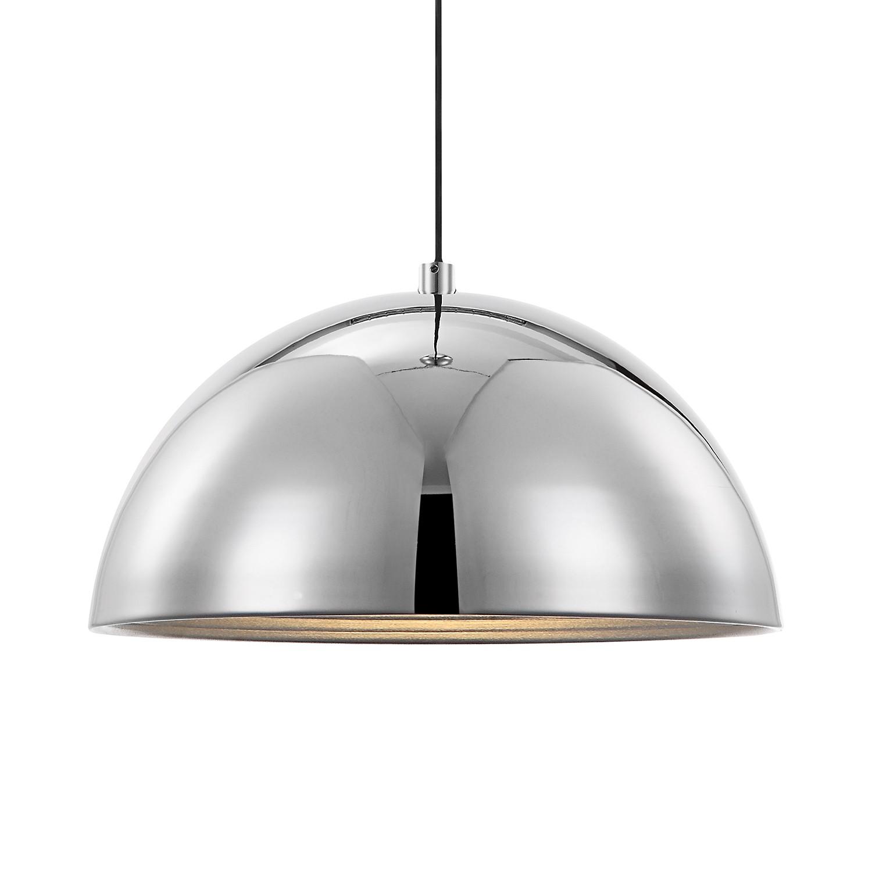 EEK A++, Pendelleuchte Earth - Aluminium - 1-flammig - Chrom, Glo bei Home24 - Lampen