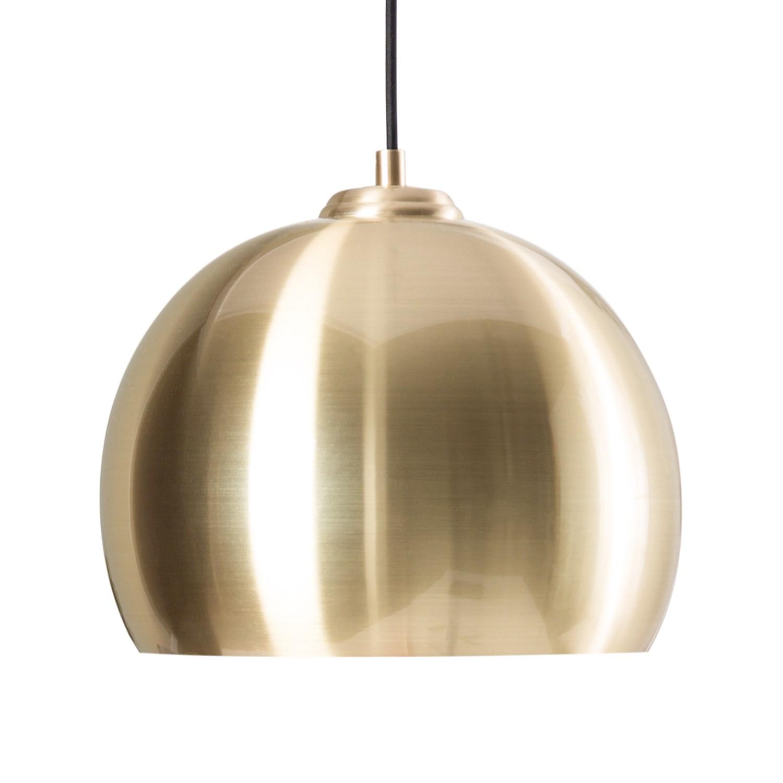 energie  A++, Hanglamp Gold Rush II - metaal - 1 lichtbron, Zuiver