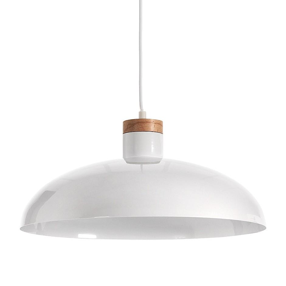 EEK A++, Pendelleuchte Gotram - Metall/Holz - 1-flammig, Norrwood bei Home24 - Lampen