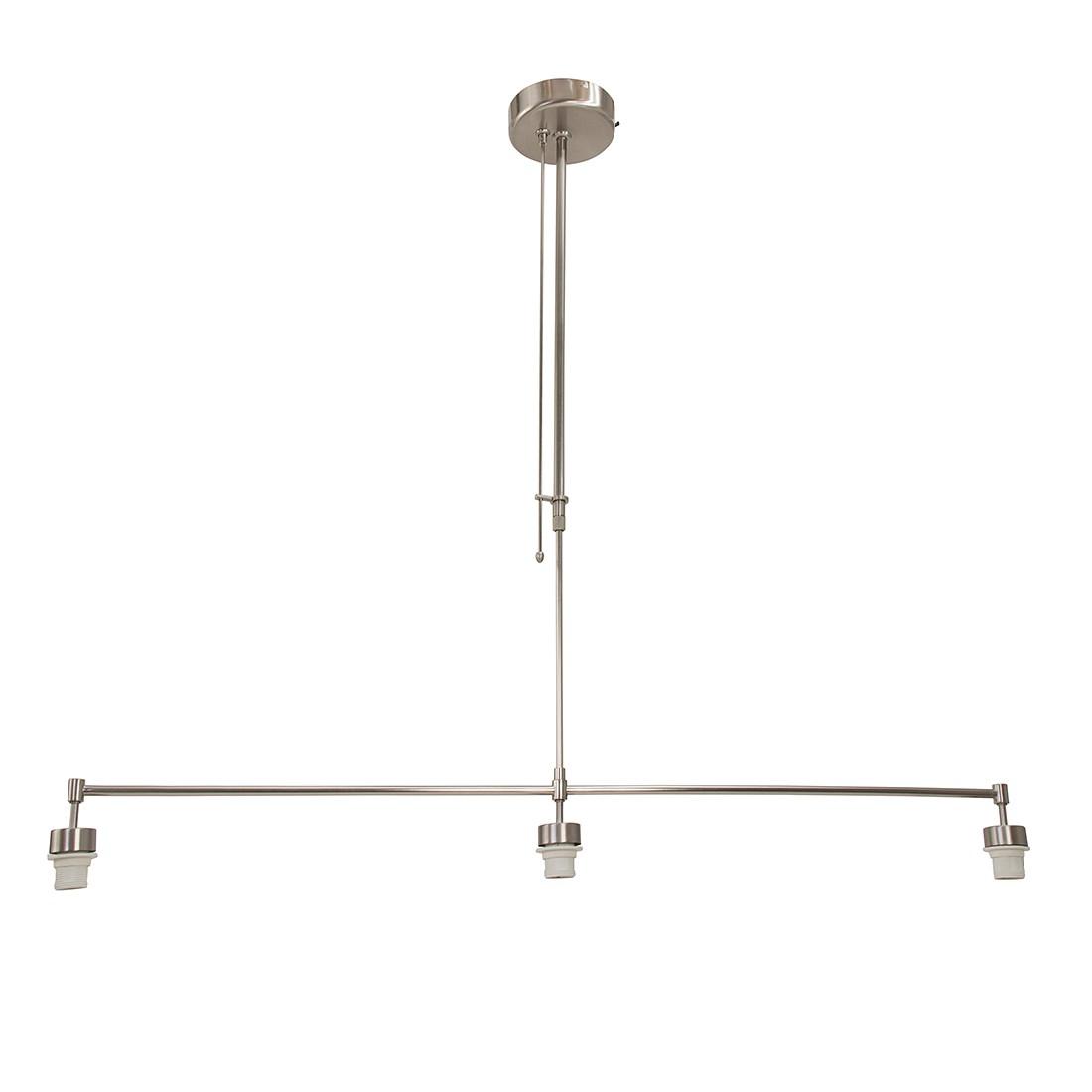 energie  A++, Hanglamp armatuur Gramineus - 3 lichtbronnen mat nikkelkleurig, Steinhauer