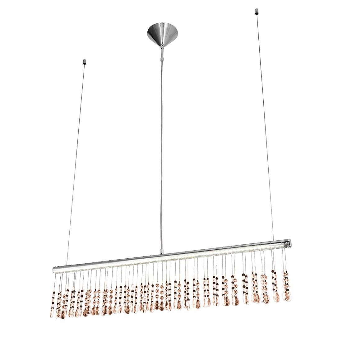 energie  A+, Hanglamp Ida Led by Leuchten Direkt - zilverkleurig ijzer 1 lichtbron, Leuchten Direkt