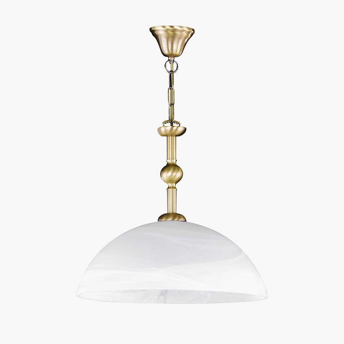 energie  A++, Hanglamp Imke - metaal - goudkleurig - 1 lichtbron, Honsel