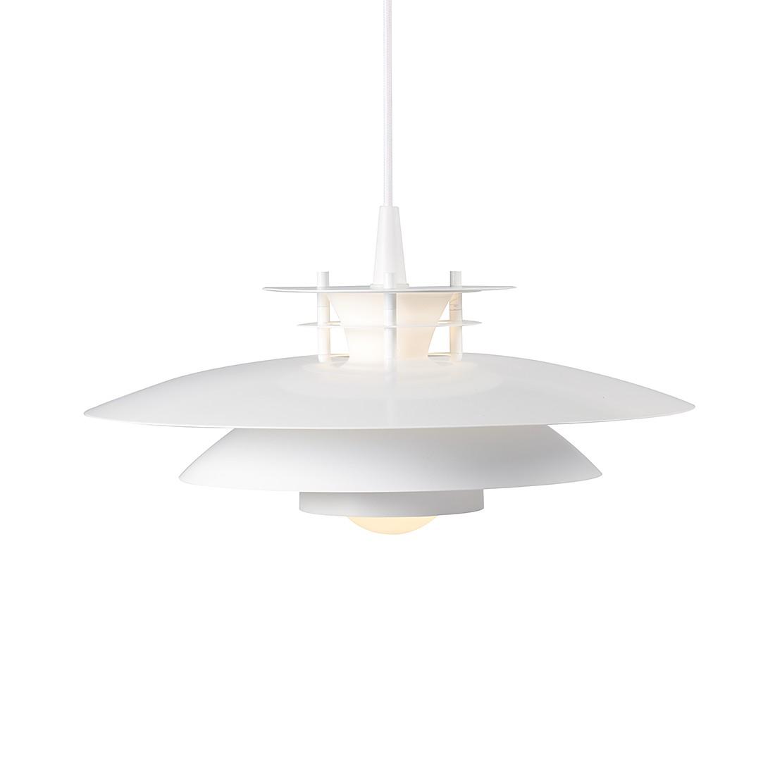 EEK A++, Pendelleuchte LD 240 - Metall/Glas Weiß, Nordlux