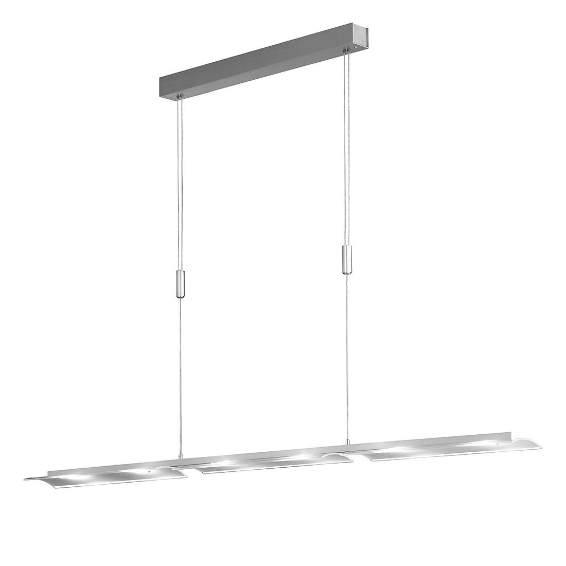 EEK A+, LED - Pendelleuchte Lomia - Metall/Glas - Silber, Honsel