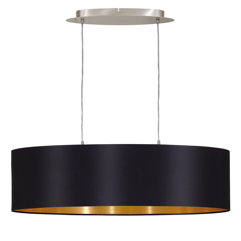 Pendelleuchte MASERLO III von EGLO in schwarz/gold