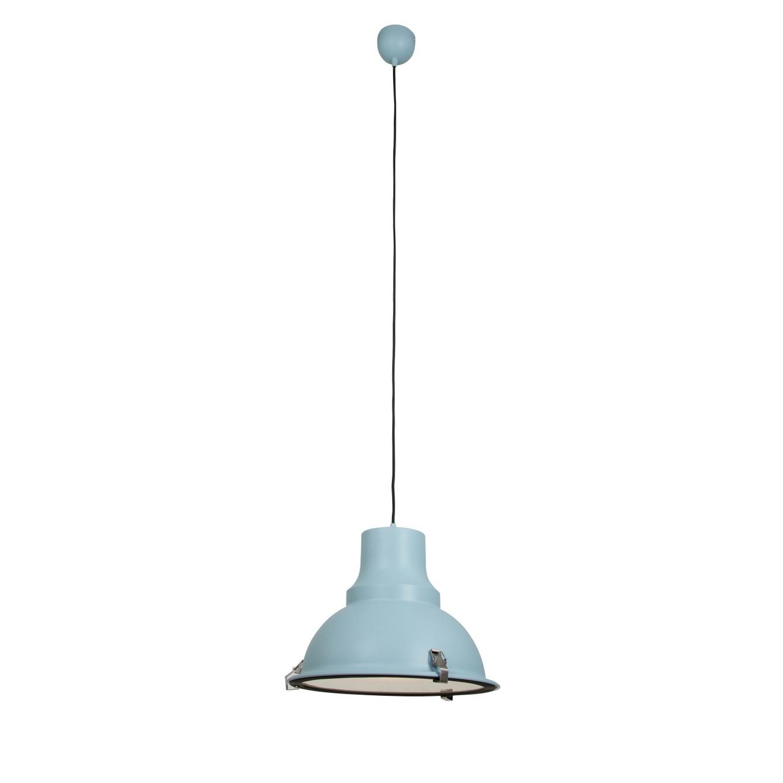 energie  A++, Hanglamp Parade - aluminium blauw 1 lichtbron, Steinhauer