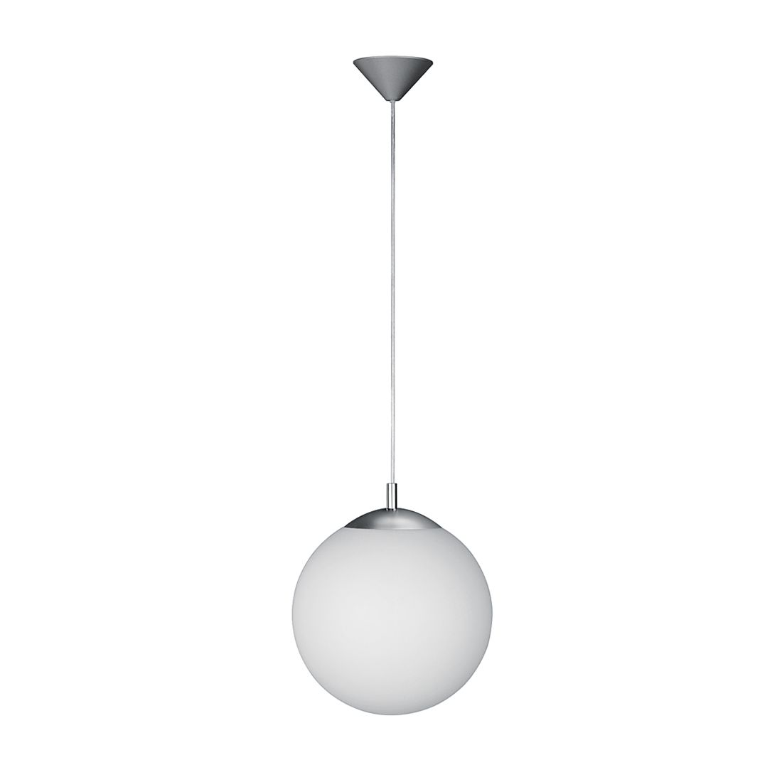 energie  A++, Hanglamp POINT - metaal/glas 1 lichtbron, Wofi