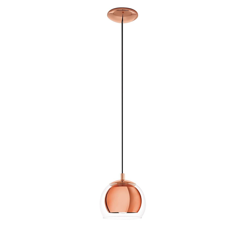 EEK A++, Pendelleuchte Rocamar I - Glas / Stahl - 1-flammig - 1 - bei Home24 - Lampen
