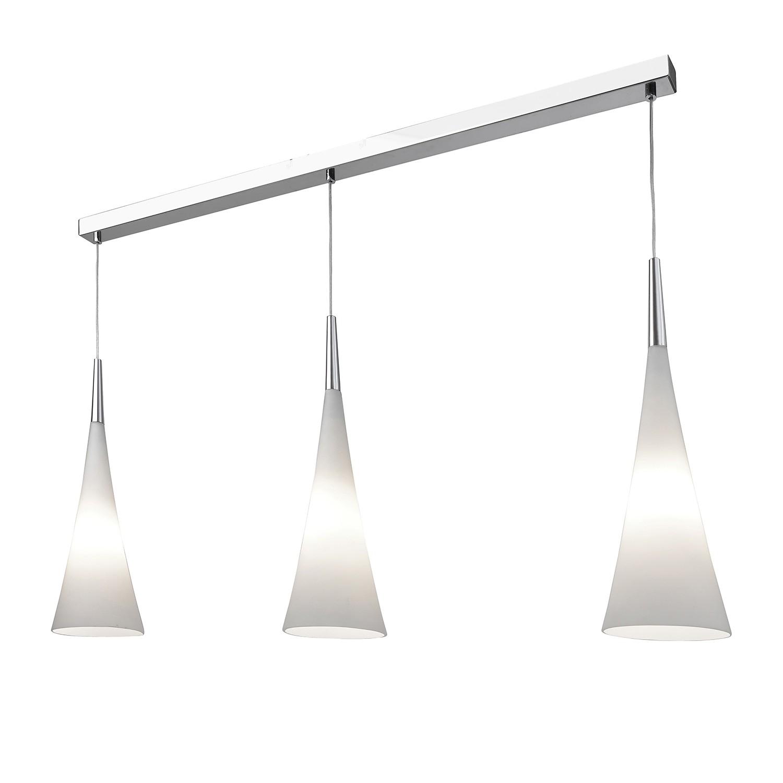 EEK A++, Pendelleuchte Stockholm - Metall/Glas - Chrom, Villeroy  bei Home24 - Lampen