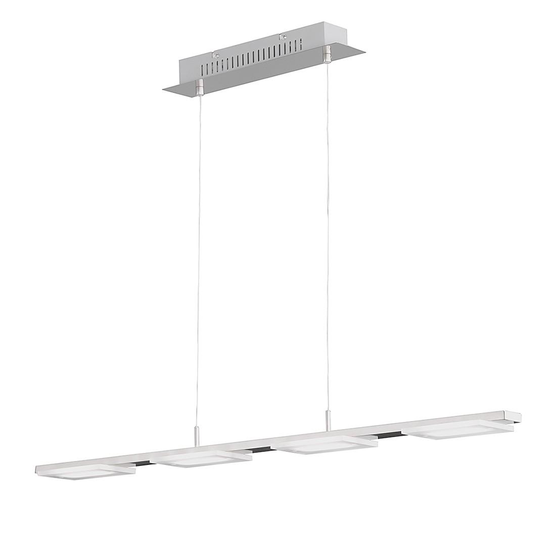 energie A+, Plafondlamp VERSO metaal-glas 4 lichtbronnen, Action