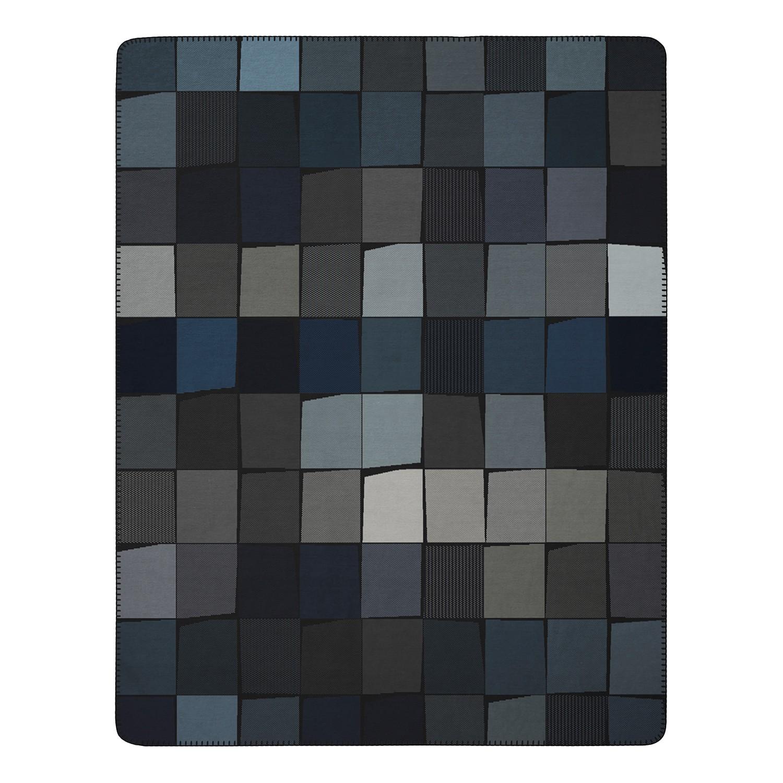 Plaid Art Abstracts - Webstoff - Taupe / Lavendel, Biederlack