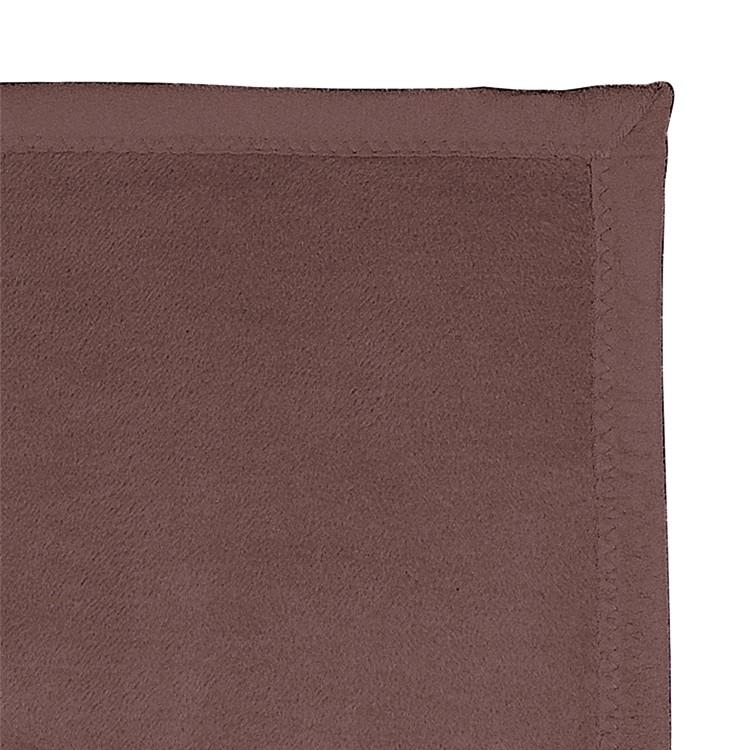 Plaid Messina - textielmix - Bruin, Ibena