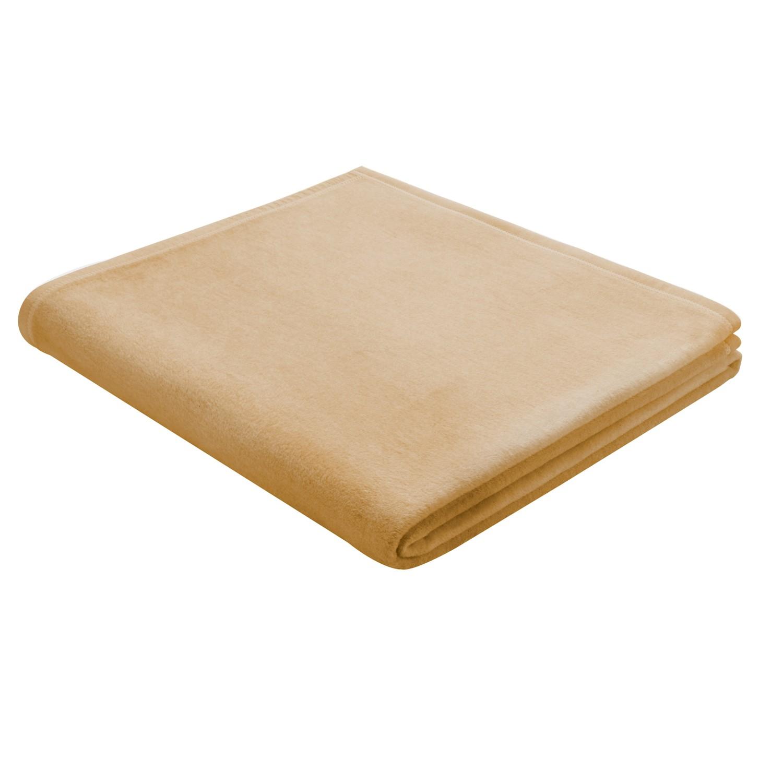 Plaid Squares Plains - Baumwollstoff - Beige, Biederlack