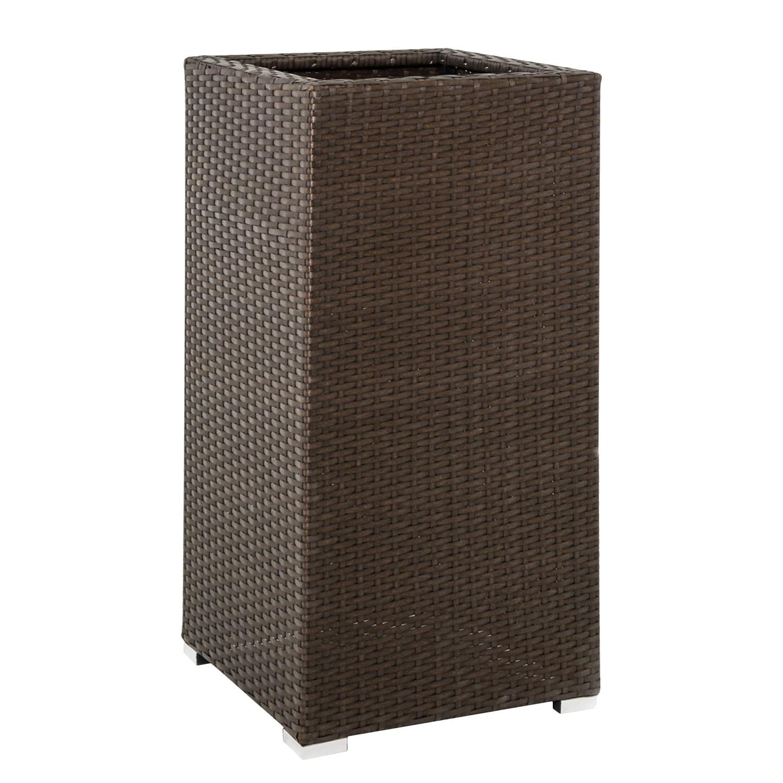 planztopf rattan kunststoff braun pure day online kaufen. Black Bedroom Furniture Sets. Home Design Ideas