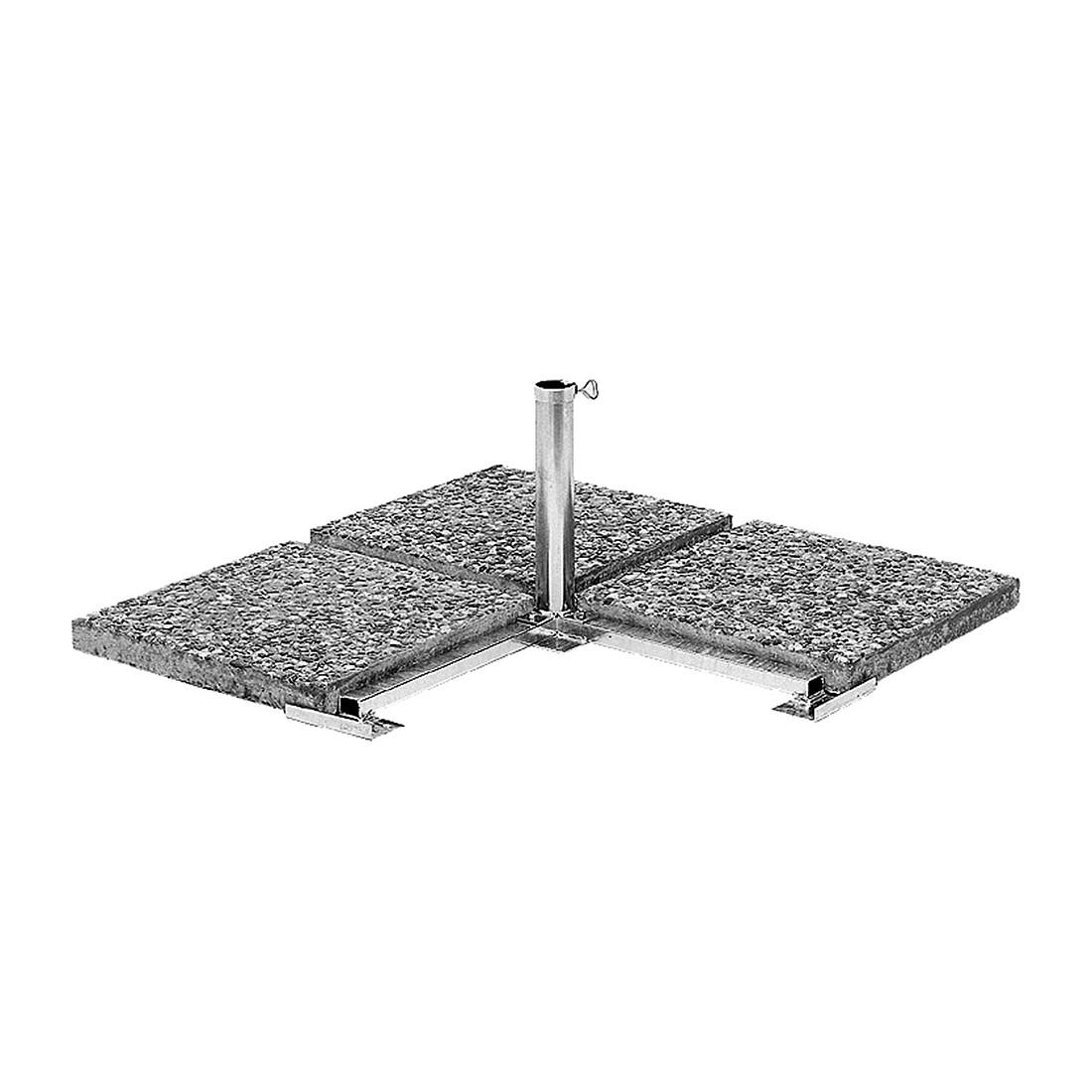 Plattenständer - Stahl Silber, Schneider Schirme