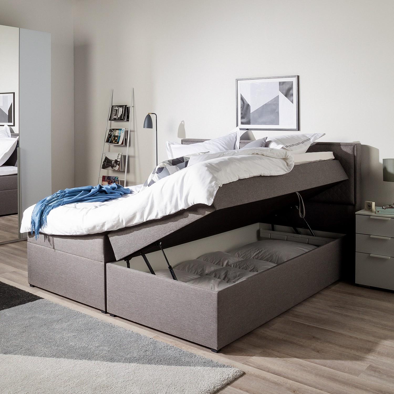 Außergewöhnlich Polsterbett Mit Bettkasten Referenz Von Bettkasten) Von Mooved Grau Kiydoo (inkl. Bettkasten)