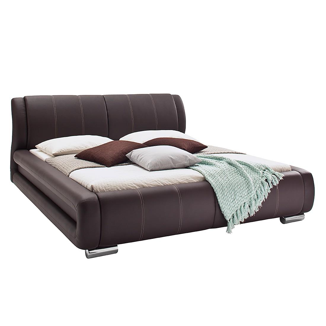 Lit capitonné Bolzano - Cuir synthétique - 160 x 200cm, meise möbel