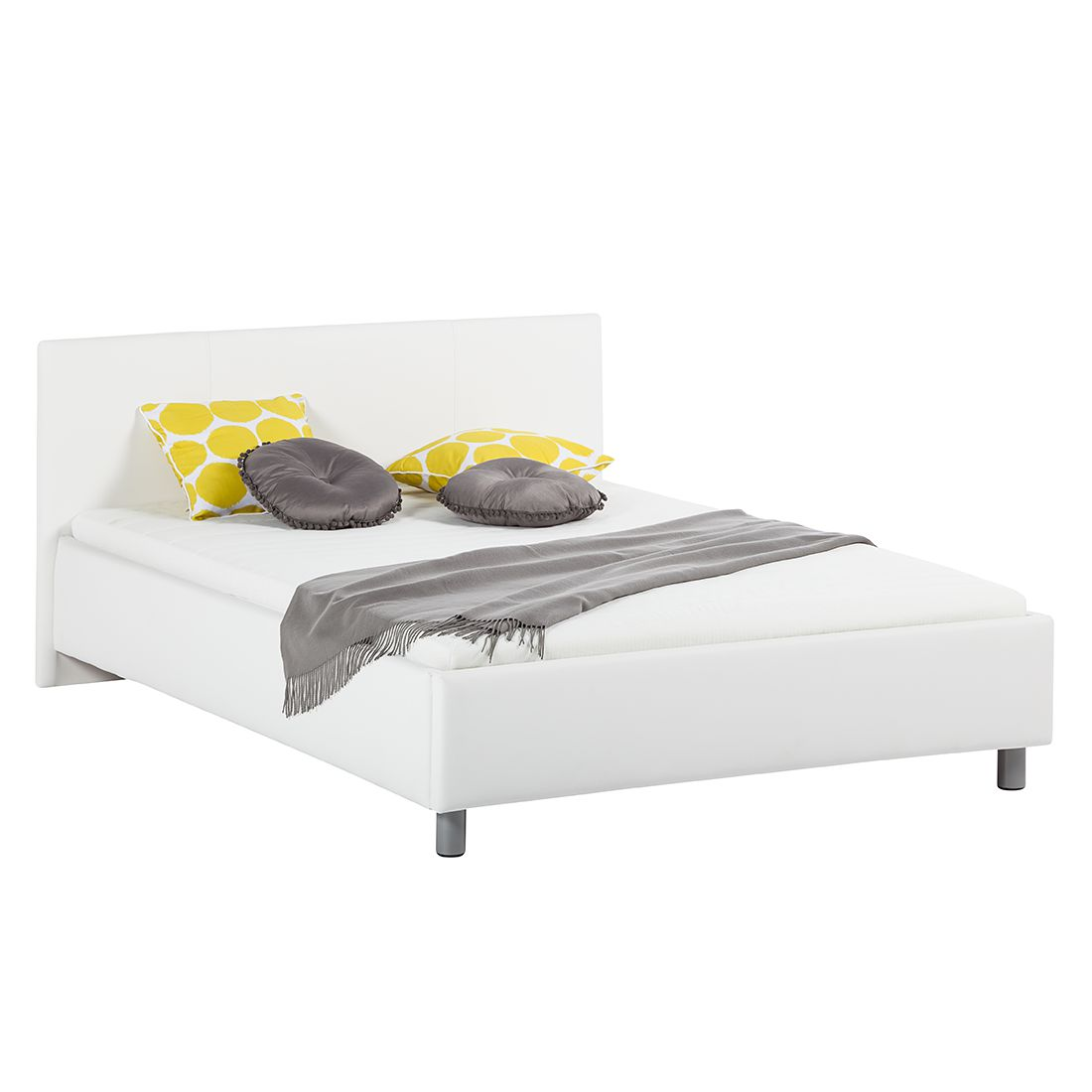 scrapeo lit sommier avec matelas 140x190. Black Bedroom Furniture Sets. Home Design Ideas