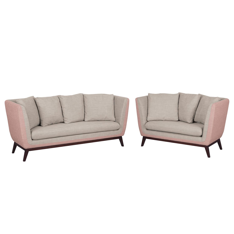 polstergarnitur sagone 3 2 webstoff lavendel. Black Bedroom Furniture Sets. Home Design Ideas