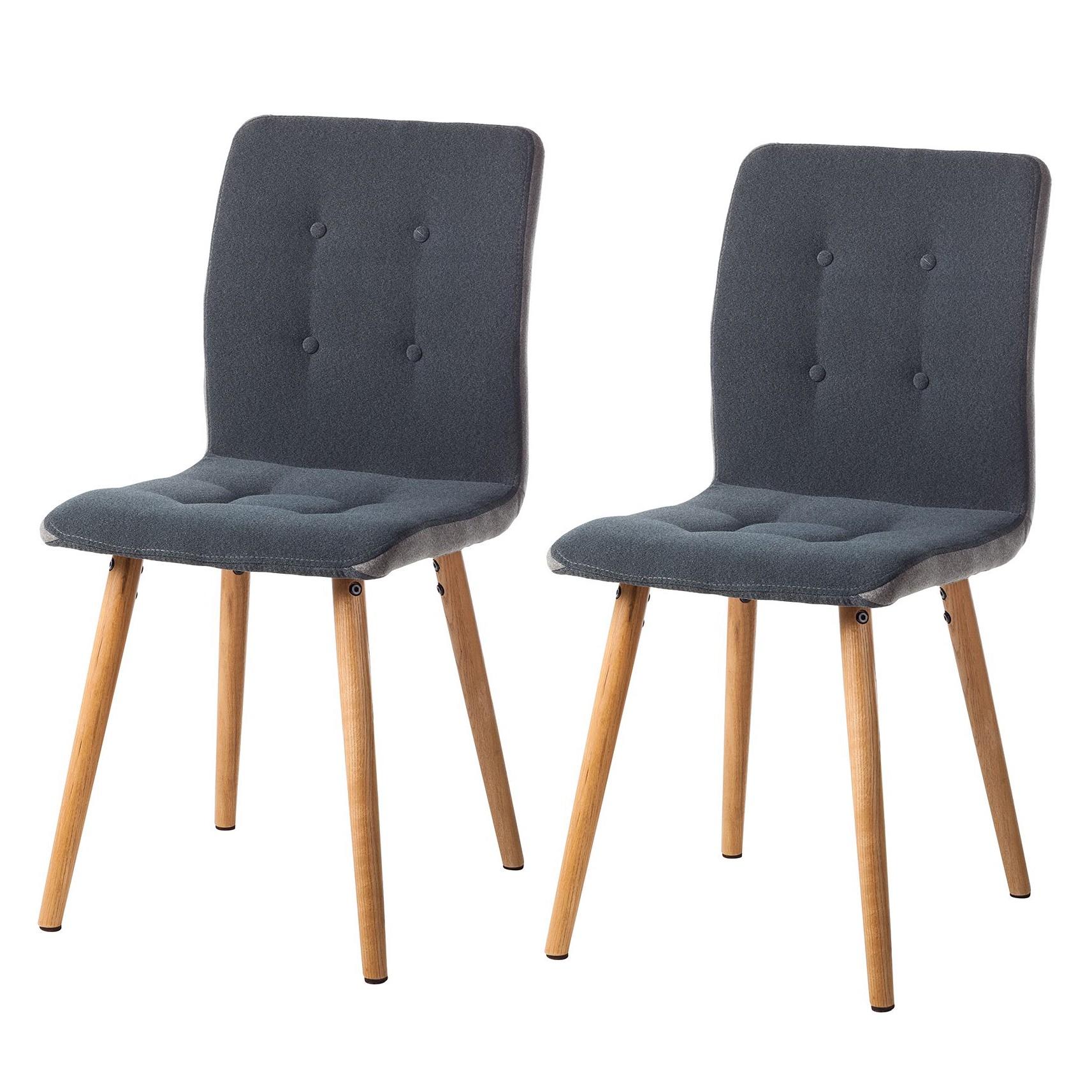polsterstuhl eiche preisvergleich die besten angebote. Black Bedroom Furniture Sets. Home Design Ideas