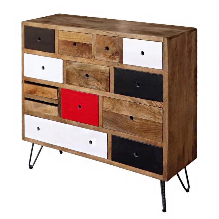 commode valaire i manguier massif ars manufacti par ars. Black Bedroom Furniture Sets. Home Design Ideas