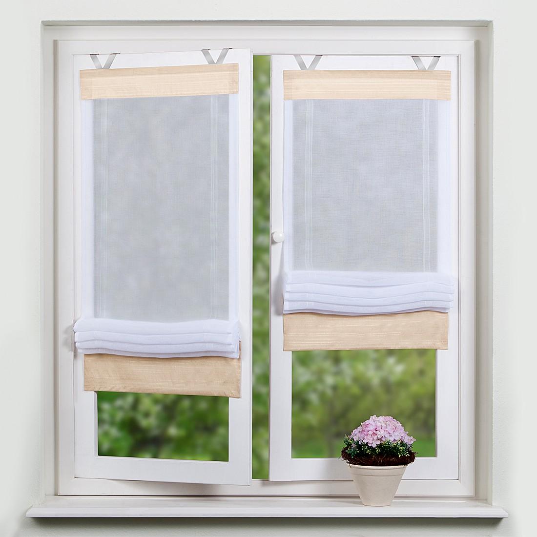 raffrollo 140 cm breit preisvergleiche erfahrungsberichte und kauf bei nextag. Black Bedroom Furniture Sets. Home Design Ideas