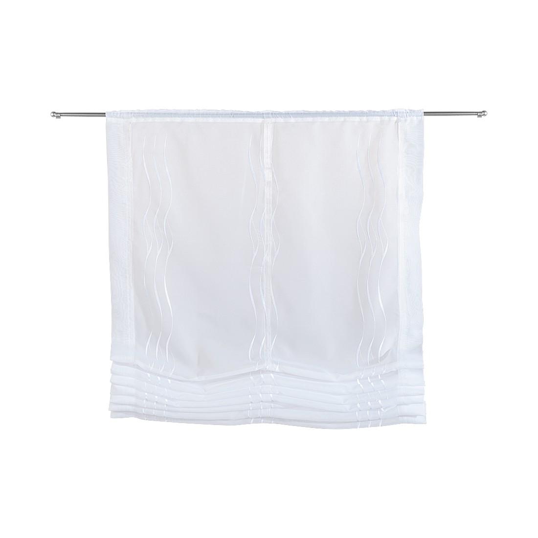 Home 24 - Rideau brise-vue nona - blanc - 120 x 170 cm, home24 deko