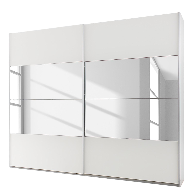 Schuifdeurkast Quadra - alpinewit - 181cm (2-deurs) - 230cm, Rauch Packs