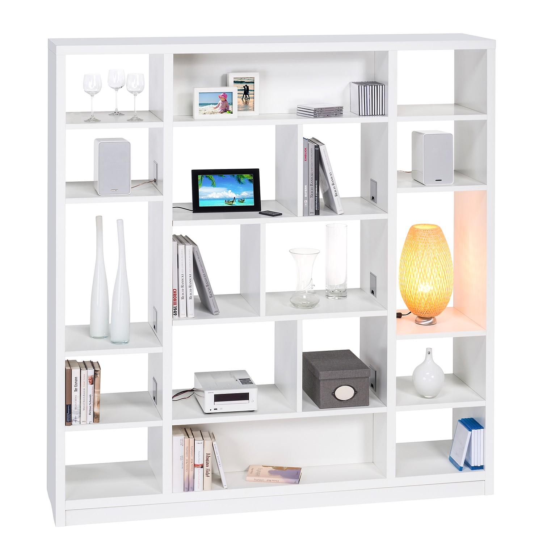 Regal Cableboard II - Weiß, Maja Möbel günstig online kaufen