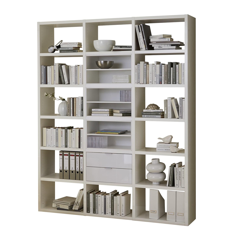 regal concept iii hochglanz wei g nstig. Black Bedroom Furniture Sets. Home Design Ideas