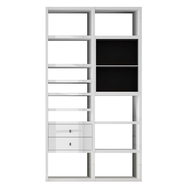 regal glas schwarz wei preisvergleich die besten angebote online kaufen. Black Bedroom Furniture Sets. Home Design Ideas